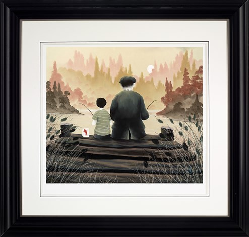 All Our Yesterdays by Mackenzie Thorpe - Framed Limited Edition on Paper